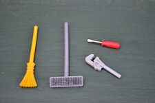 lot of 4 assorted Playmobil work tools -   combined shipping