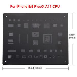 QIANLI MEGA-IDEA Edition Reballing Black Stencil Repair Tools For iPhone 8 8P X