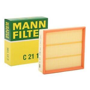 Mann-filter Air Filter C21106 fits Fiat PUNTO 199_ 1.9 D Multijet 1.4 T-Jet