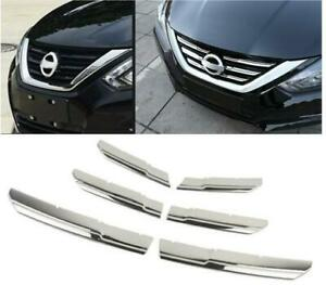 2016 2017 2018 For Nissan Altima Stainless Front Grille Decorative Cover Trim