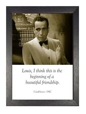 Casablanca Louis - 1942 Classic Movie Poster Collection Old Vintage Friendship