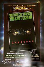 RiffTrax Live: Anaconda - Autographed Poster!