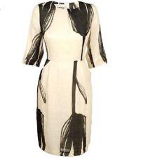 Malene Birger Essery Dress Net-a-porter Silk Linen Wedding Guest Party Dress