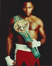 LENNOX LEWIS 8X10 PHOTO BOXING PICTURE WITH BELT