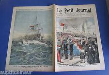 Le petit journal 1905 767 Grandes manoeuvres navales contre torpilleur éclaireur
