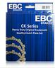 CK2352 EBC Set discos de fricción CK para YAMAHA YZF R1 1000 2009 2010