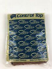 Silkies Control Top Queen Beige Panty Hose New