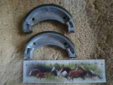 YAMAHA YAMAHAULER 200 YTM225DX TRI-MOTO 225DX BRAKE SHOES FRONT 1983-1986 NEW!!