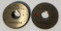 70490380  Gewindelehrring Metrisch M38x2 6g Gut