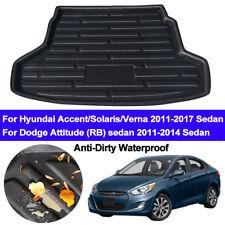 Rear Boot Cargo Liner Trunk Mat Tray For Hyundai Accent Verna i25 2011 - 2017