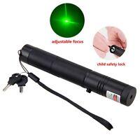 Profesional 1mw 532nm10mile Potente Láser Verde Puntero lápiz óptico rayo Lazer