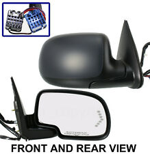 Mirror KOOL-VUE Passenger Right Side View 03-06 Chevy Tahoe Avalanche Power Heat