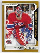 18-19 OPC O-PEE-CHEE PATRICK ROY MARQUEE LEGENDS SP #ML-5 - 2018 UD