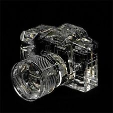 Fotodiox Crystal DSLR Camera Display Model real life size replica Canon EOS 7d