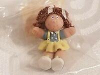 Dollhouse Miniature Cabbage Patch Doll Artist Made Polymer Clay Curly Red Hair