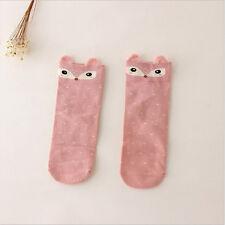 Fashion Lovely 3d Cartoon Animal Zoo Women Socks Girls Cotton Warm Soft Socks Latericeous Squirrel