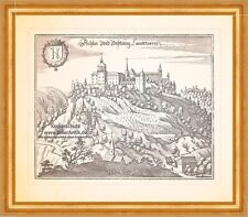 Schloß und Festung Landskron Villach Ossiacher Tauern Höhenburg Merian 0968