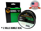 Made in USA (2 Rolls) K-NGS E71T-GS .035 in. Dia 2lb. Gasless-Flux Core Wire