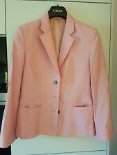 Blazer Jobis Gr. 38 rosa Schurwolle Viscose Mohair getragen