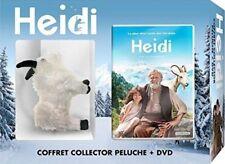 Coffret Collector HEIDI, DVD + PELUCHE CHÈVRE  Neuf sous blister