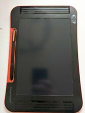 Boogie Board Sync 9.7inch LCD ewriter in Black and Orange