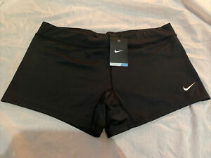 NEW! NIKE [XL] Women's Performance Volleyball DRI-FIT Shorts-Black 108720-010