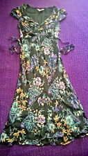 Fabulous Pepperberry Really Curvy floral dress size 10 work formal casual