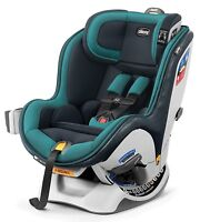 Chicco NextFit Zip Convertible Child Safety Baby Car Seat Juniper NEW