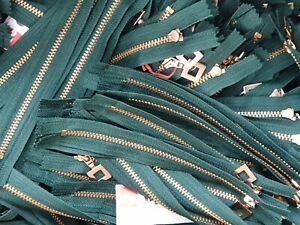 Reißverschluss Mix-Posten verschiedene Farben & Längen 50 Stück neue Zipper