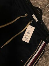Tommy Hilfiger Icons Popper Pants Side Stripe Track Joggers BNWT RRP:£110