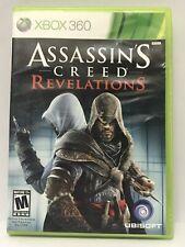 Assassin's Creed: Revelations (Microsoft Xbox 360, 2011) Ships Free/Fast!
