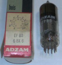 EF80 electronic tube (équivalent 6BX6 = Z719 = Z152 = 8D6 = 64SPT =6F41) Adzam