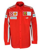 Puma SF Scuderia Ferrari F1 Hemd Team Shirt rot langarm Gr XL Badges Patches