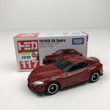 Tomica No. 117 Toyota GR Supra Red MK5 A90 Takara Tomy Rare