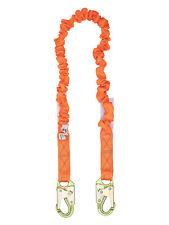 C5104 - Single Leg Stretch Shock Absorbing Lanyard 2 Steel Snap Hooks 4.5′ – 6'