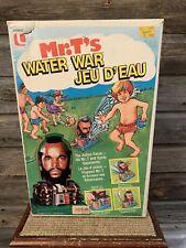 Vintage Mr. T's Water War Sprinkler Game With Box