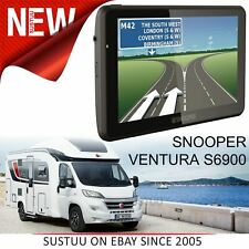 Snooper Ventura S6900│7'' Caravan & Motorhome GPS Sat Nav│Lifetime European Maps