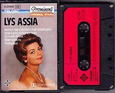 MC Lys Assia - Prominent Original Stars - TELDEC geschraubt Telefunken