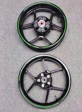 Pair of Kawasaki ER6F/ER6N Front and Rear Wheels 2014-16 Model Years