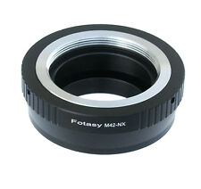 Adjustable M42 42mm lens Samsung NX1 NX500 NX3000 NX300M NX300 Camera Adapter