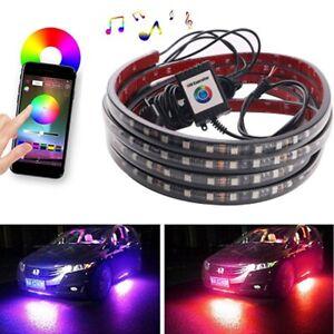 APP Control RGB LED Unterbodenbeleuchtung Auto Unterlicht Atmosphäre Lampe