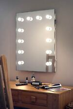 Diamond x Wallmount Hollywood per trucco Specchio con bianco caldo LED regolabile k90WW