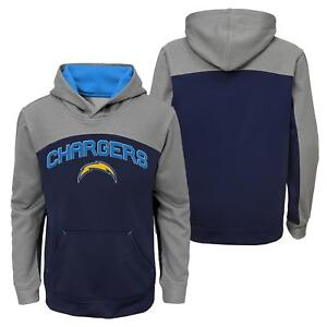 """San Diego Chargers Youth NFL """"Arc"""" Pullover Hooded Sweatshirt"""