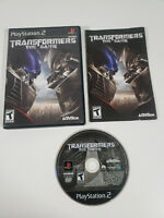 Transformers The Game (Sony PlayStation 2 PS2) Complete w/ Manual