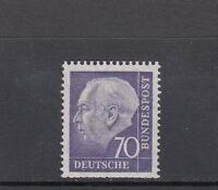 BRD Mi-Nr. 263 xw R - Rollenmarke mit Nummer 0285 ** postfrisch