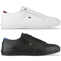Tommy Hilfiger Trainers - Tommy Hilfiger Corporate Flag Trainers - Black, White
