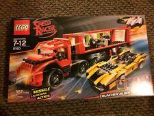 Lego 8160 Speed Racer Cruncher Block & Racer X - BRAND NEW SEALED