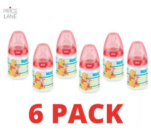 Baby Bottle NUK Disney Winnie the Pooh Bottle 6 PACK - 150ml Baby 0-6 months