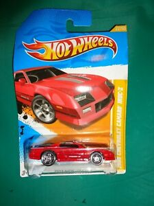 Hot Wheels 2012 New Models Red 1985 Chevrolet Camaro Iroc-Z Die Cast 1:64
