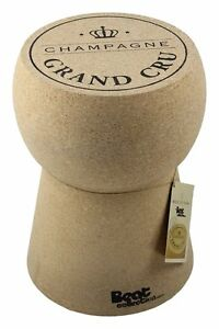 Stool Table Cap Champagne Original Manufactured Cork Natural Moulded Novelty